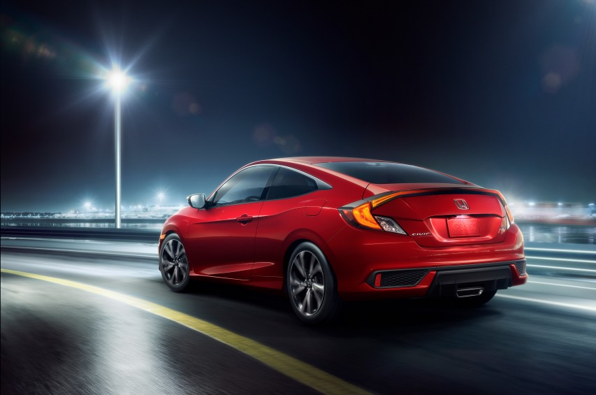 honda introduces redesigned 2019 civic coupe and sedan