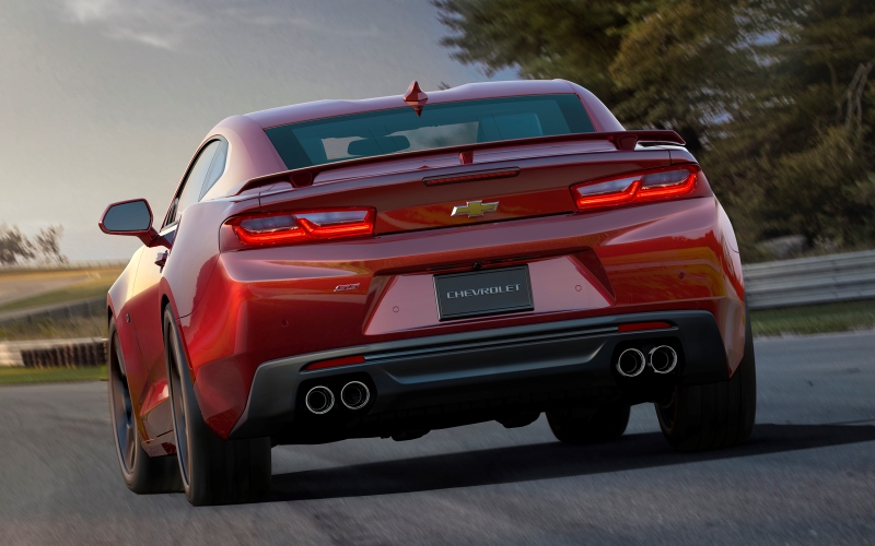 General Motors Revealed the Sixth-Generation Chevrolet Camaro ...