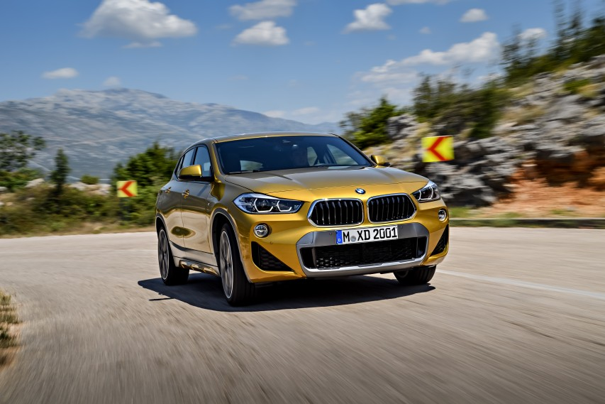 The 2018 Bmw X2 Gets Its Punch From A 228 Horse Inline 4 Twin Turbo It Slips Into X Lineup Below