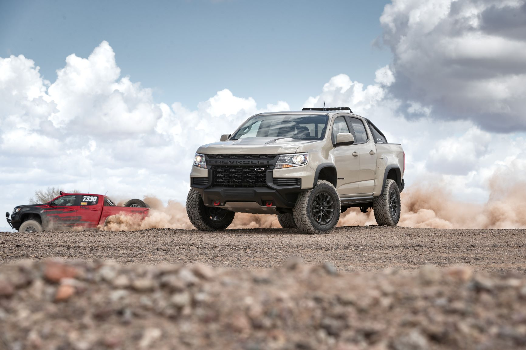Reworked 2021 Chevrolet Colorado Ready To Kick Some Dirt ...