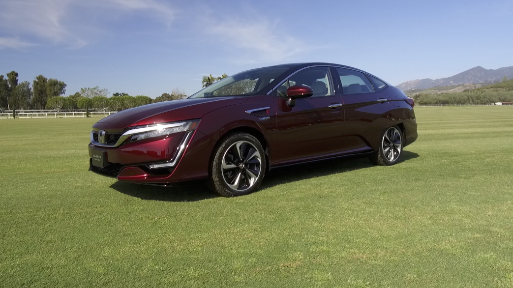 Driving The New Hydrogen Powered 2017 Honda Clarity Fuel Cell Video
