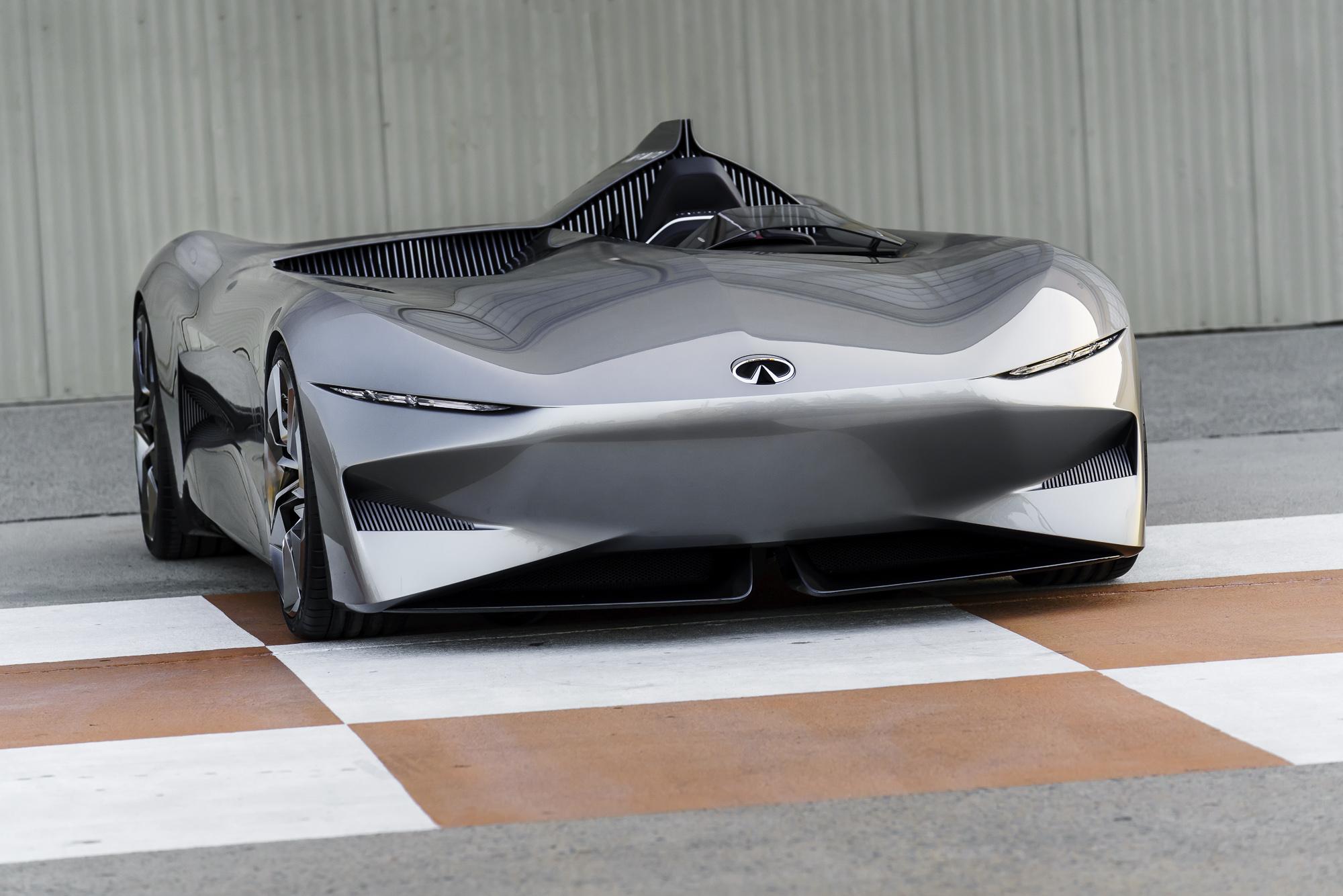 Infiniti Prototype 10 Gives Glimpse Of Future Electric Sports Car