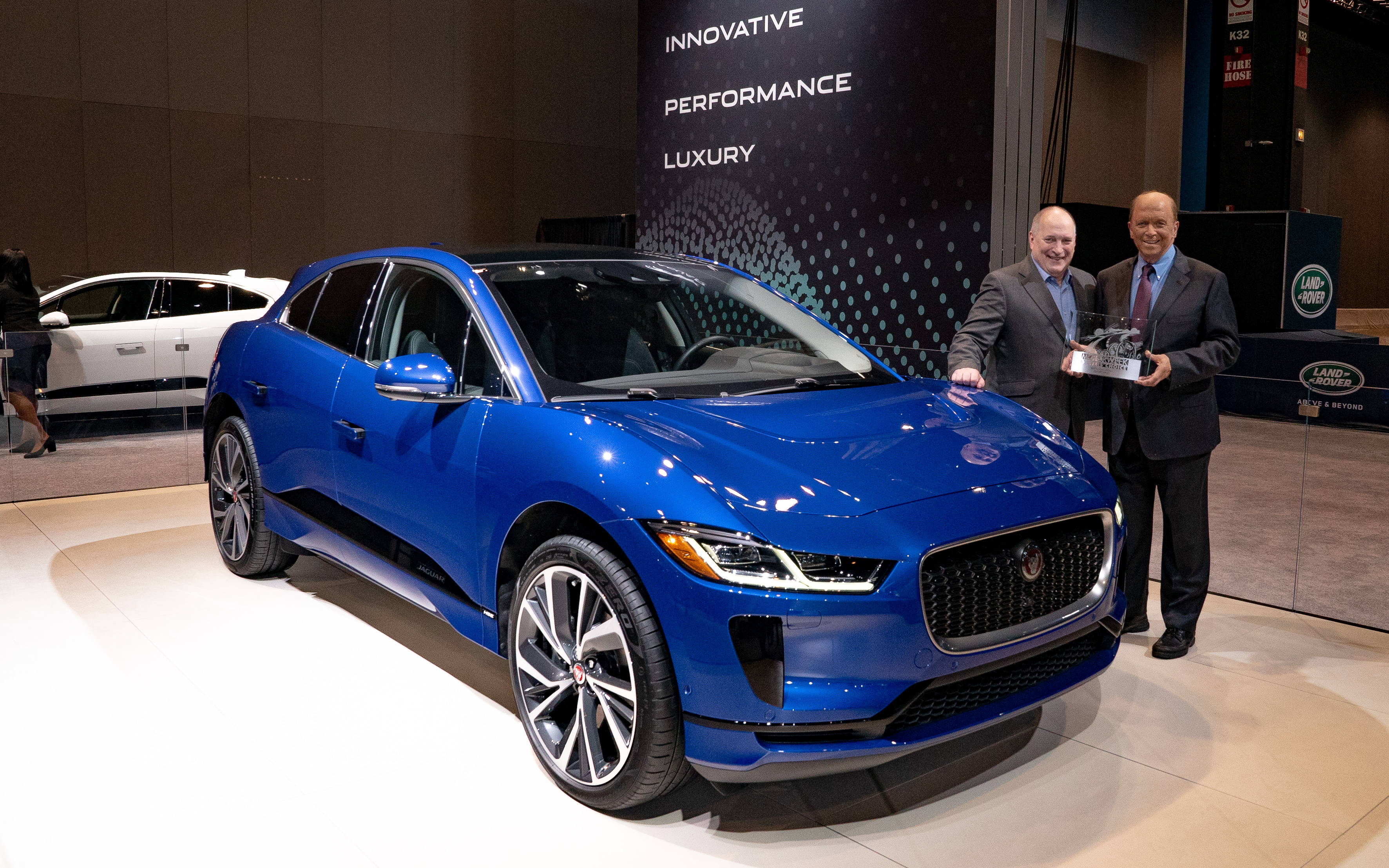 Motorweek Names Jaguar I Pace Drivers Choice Best Of The Year 2 07 2019