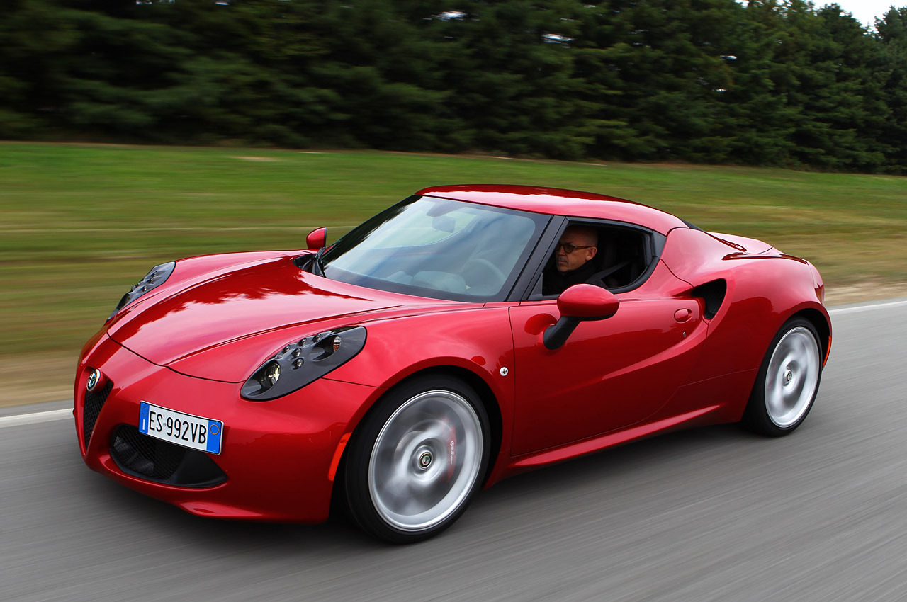 Attractive 2015 Alfa Romeo 4C