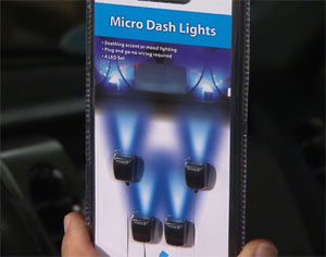 So What I Did Is Went To The Local Parts And Bought Some Of These Are Small Led Dash Lights They Re Adhesive On Back