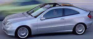 2002 MercedesBenz C230 Sports Coupe  C320 Sport Wagon Program