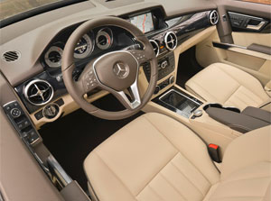 inside youll find the same mix of modern features with retro style that we found very appealing in the 13 glk the comand central controller activates - Mercedes Glk 2013 Interior
