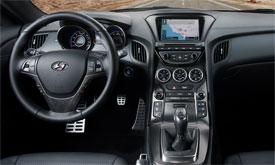 2013 hyundai genesis coupe motorweek - 2013 hyundai genesis coupe 2 0 t interior ...