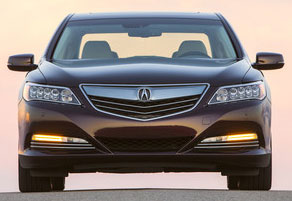 The 2017 Acura Rlx Sport Hybrid May Look For Most Part Like A Regular Luxury Sedan But Underneath It Couldn T Be More Diffe