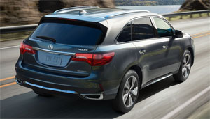 One Thing You Won T See Here Is A Trailer Hitched To The Back Acura Says Towing For Mdx Sport Hybrid Not Recommended