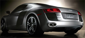 Audi R MotorWeek - Audi r8 quarter mile