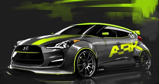 Hyundai To Unveil A Tuner Version Of The Veloster At Sema Motorweek
