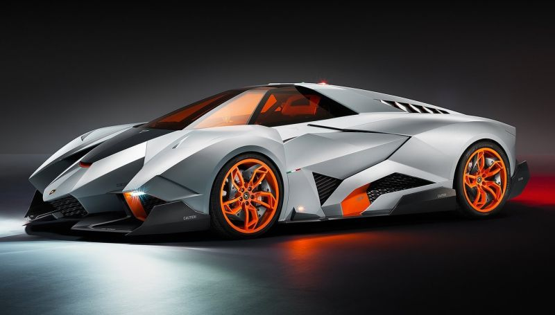 to celebrate 50 years of the raging bull lamborghini rolled out the egoista concept over the weekend a supercar built for one - Real Lamborghini Bull