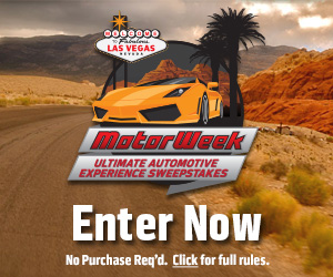 Motorweek Sweepstakes